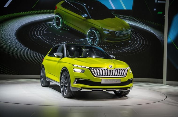 Skoda a lansat conceptul Vision X: sistem hibrid de propulsie cu benzină (FOTO)