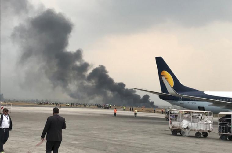 Un alt avion cu circa 80 de persoane la bord s-a prăbușit