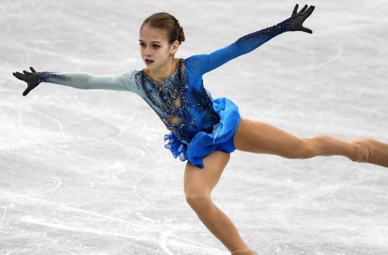 O fetiță de 13 ani a scris istorie în patinajul mondial (VIDEO)