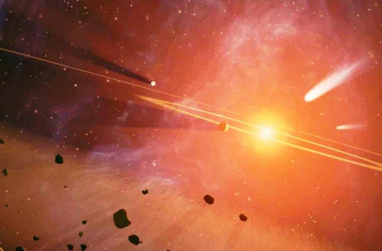 Așa ceva nu ai mai vazut... meteorit plin cu diamante (FOTO)