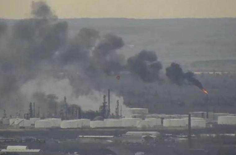 В Висконсине произошёл взрыв на нефтеперерабатывающем заводе