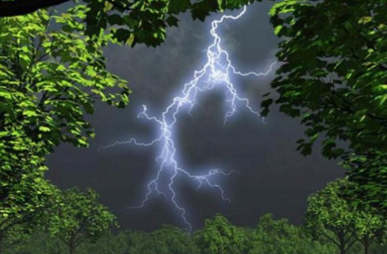 На Молдову надвигаются грозовые дожди