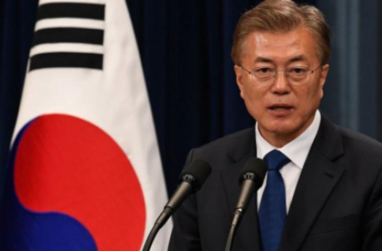 Preşedintele Coreei de Sud, şocat că Trump a anulat întîlnirea cu Kim Jong-un