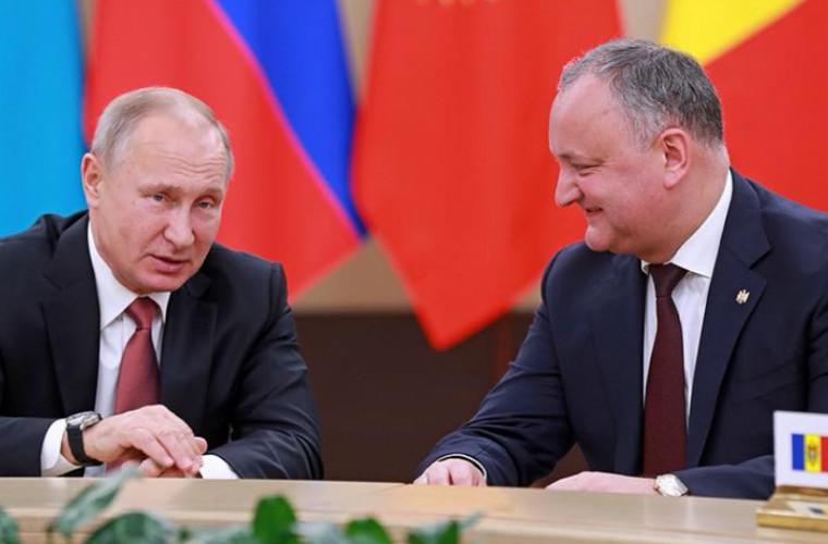 Dodon: Moldova și Rusia sînt unite de un trecut, prezent și viitor comun