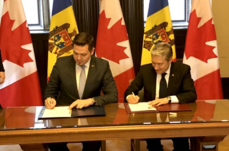 Молдова и Канада подписали Соглашение о продвижении и защите инвестиций