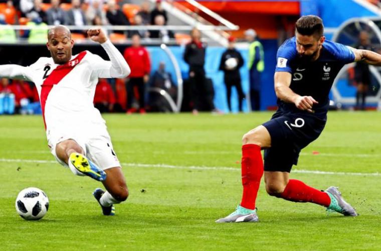 Франция вышла в 1/8 финала ЧМ-2018