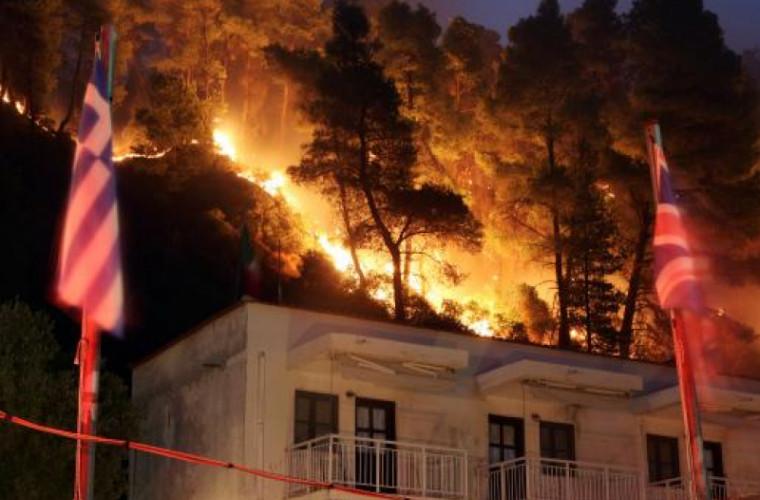 В Греции объявлен национальный траур по погибшим в пожаре