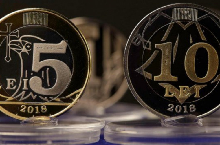 Cînd vor apărea în circulaţie monedele de cinci și zece lei