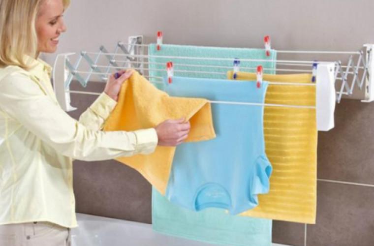 De ce este periculos pentru sănătate să îţi usuci rufele în casă