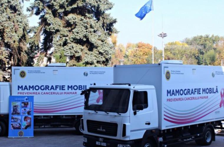 Trei maşini speciale ale Institutului Oncologic vor ajunge în satele din ţară