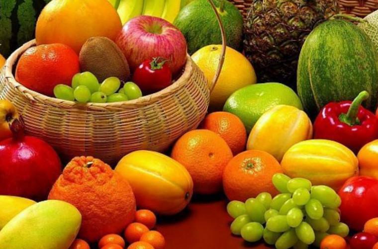 În luna octombrie a crescut prețul la fructe și legume