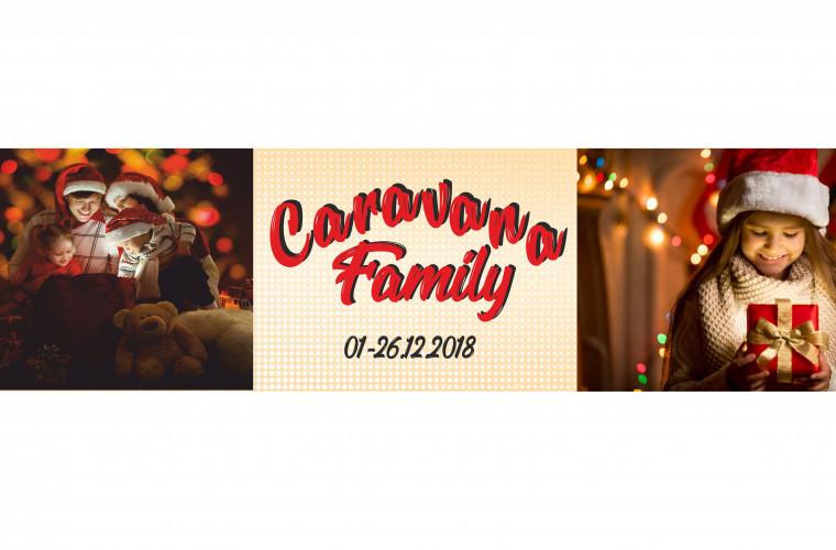 """Family Market lansează Caravana de Crăciun """"Family"""""""