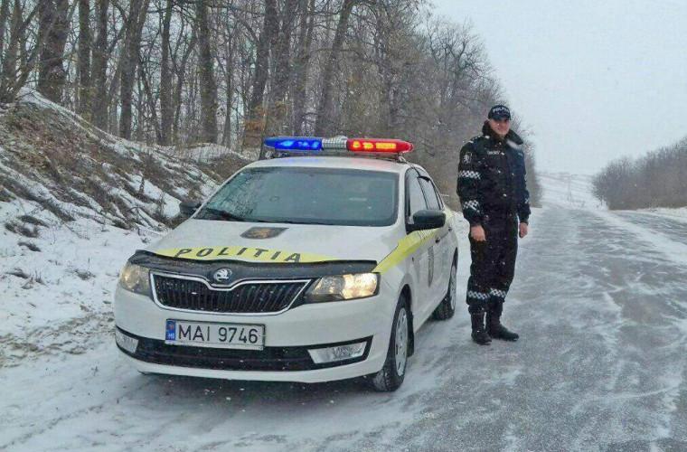 Atenție șoferi! Pericol mare de accidente din cauza ghețușului
