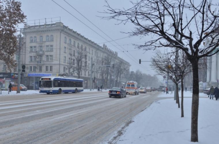 Atenție! Drumurile în pantă din capitală au fost închise (FOTO)