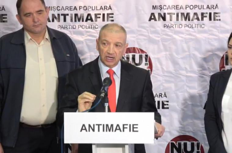CEC a înregistrat Mișcarea Populară Antimafie în calitate de concurent electoral