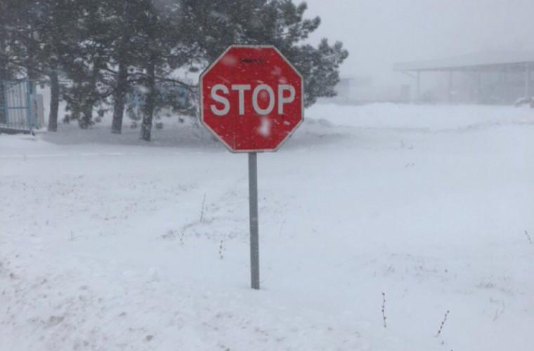 Resticții de circulație în statele vecine, din cauza ninsorilor