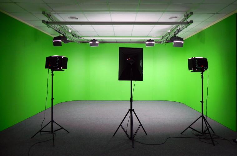 """""""Green Screen"""" la Chişinău! Aici puteți realiza videoclipuri moderne"""