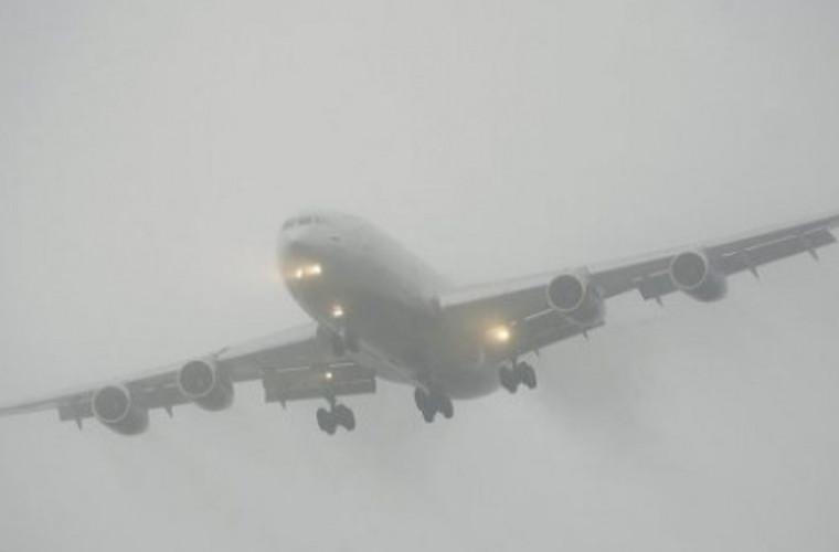 Mai multe zboruri anulate din cauza ceței