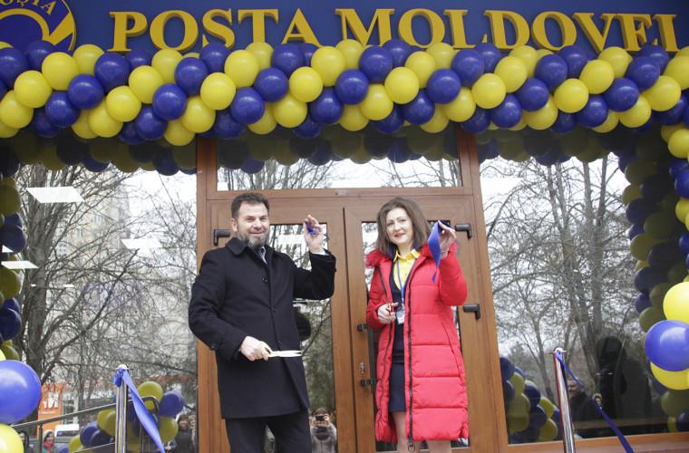 O nouă subdiviziune Poșta Moldovei în sprijinul locuitorilor sectorului Buiucani