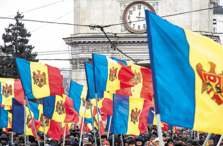 """Mesajul """"Pentru Moldova Mare"""", tot mai popular în Republica Moldova"""