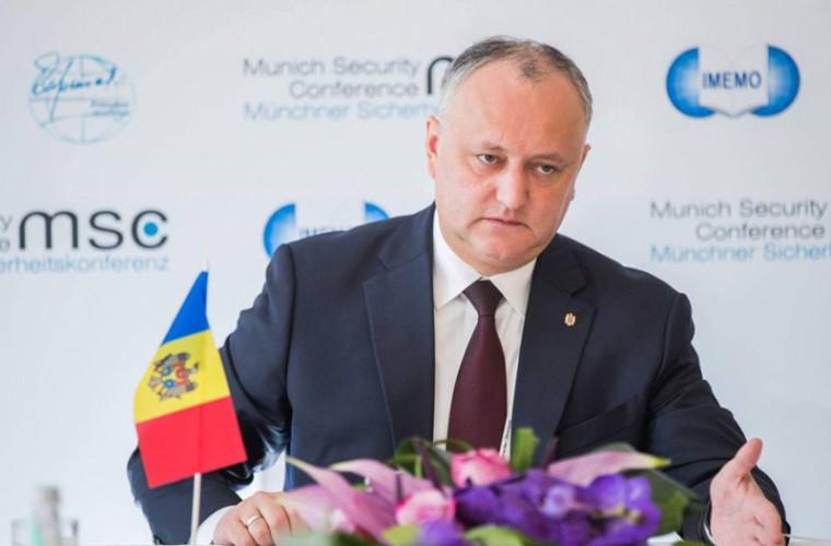 """Igor Dodon a prezentat """"Pachetul atotcuprinzător pentru R. Moldova"""""""