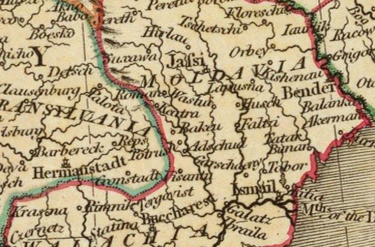 Regiunile istorice ale Moldovei Mari