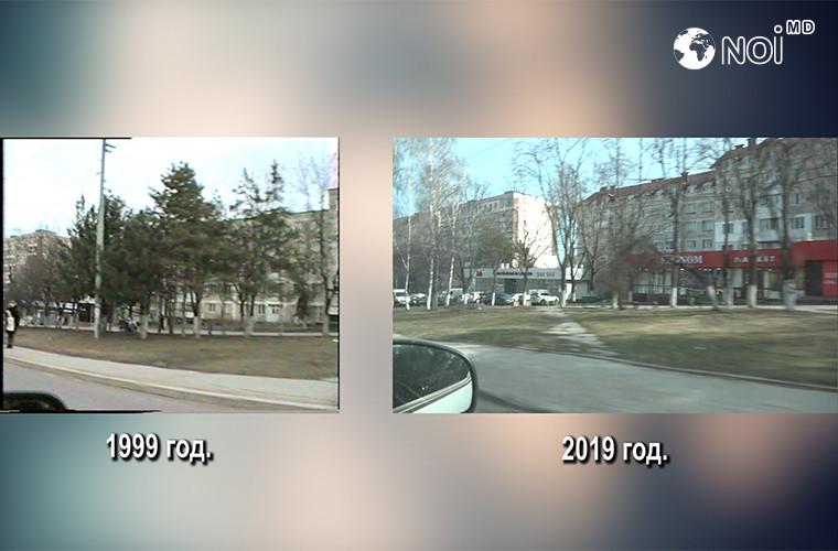 Тот же кишинёвский маршрут 20 лет спустя. Сравнение (ВИДЕО)
