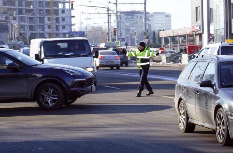 Motivul pentru care 10.000 de șoferi din Chișinău s-au ales cu amenzi