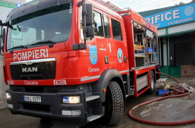 Zeci de autospeciale pentru stingerea incendiilor, donate salvatorilor moldoveni