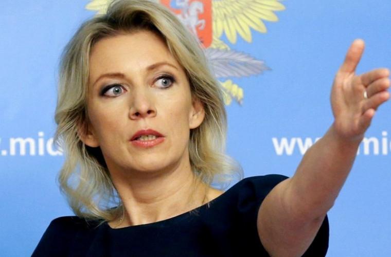 Zaharova a răspuns la promisiunea lui Omelyan