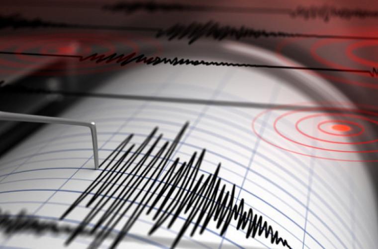 Cutremur cu magnitudinea de 3,1 grade în apropiere de Moldova