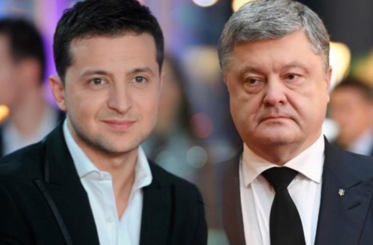 Televiziunea publică din Ucraina face o promisiune lui Zelenski și Poroșenko