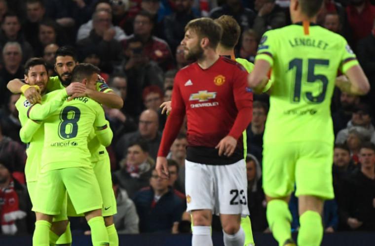 Liga Campionilor: FC Barcelona a învins-o pe Manchester United