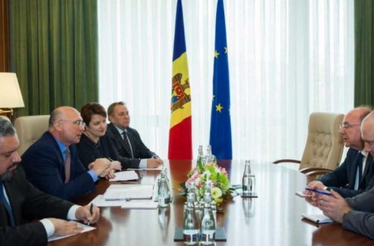 Pavel Filip s-a întîlnit cu ambasadorul Rusiei la Chișinău