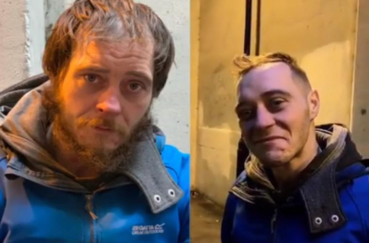 Un frizer din Marea Britanie tunde gratuit persoanele fără adăpost