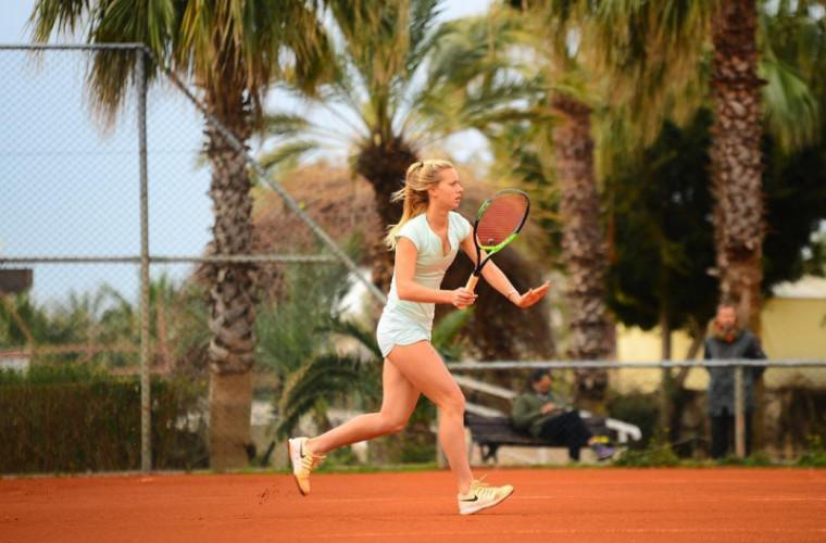 Vitalia Stamat a cîștigat turneul internațional W15 Shymkent la dublu