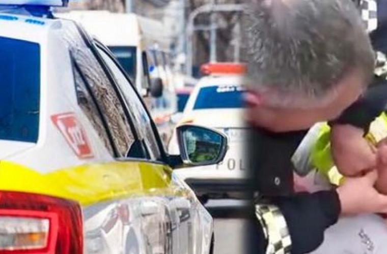 Prima decizie în cazul șoferului care a mușcat degetul unui ofițer de patrulare