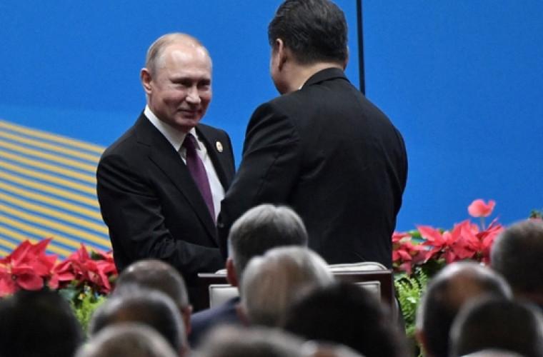 Xi Jinping l-a premiat pe 'prietenul' său, Vladimir Putin