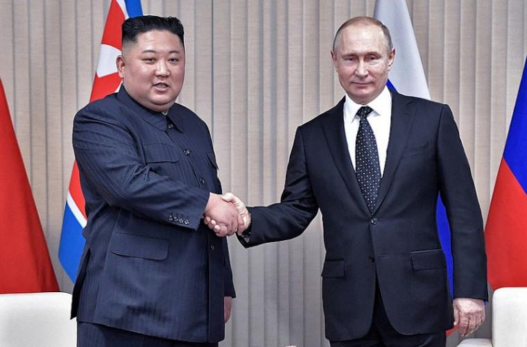Putin și Kim Jong-un nu au ajuns la careva înţelegeri