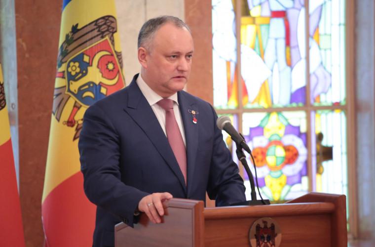 Igor Dodon speră la crearea unei coaliții cu blocul ACUM