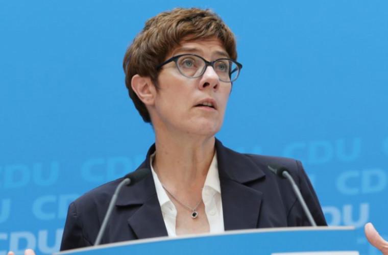 """Succesoarea Angelei Merkel și-a exprimat poziția privind """"Nord Stream - 2"""""""