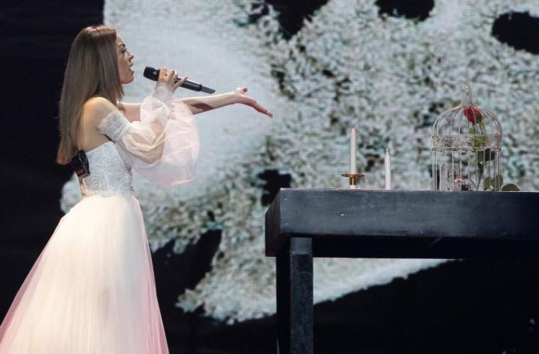 Reprezentanta Moldovei la Eurovision a avut cea de-a doua repetiție (VIDEO)