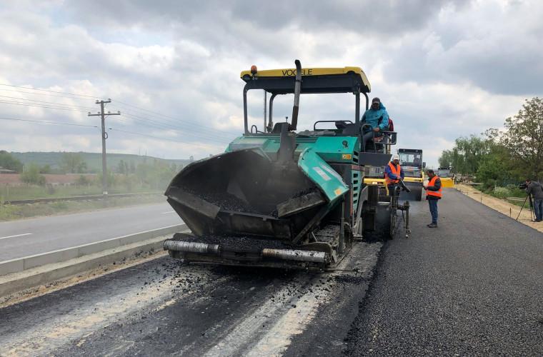 Cînd va fi finalizată reparația drumului național R1: Chișinău-Ungheni-Sculeni