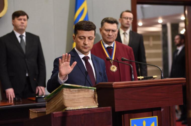 Cine va reprezenta Moldova la inaugurarea lui Zelenski?