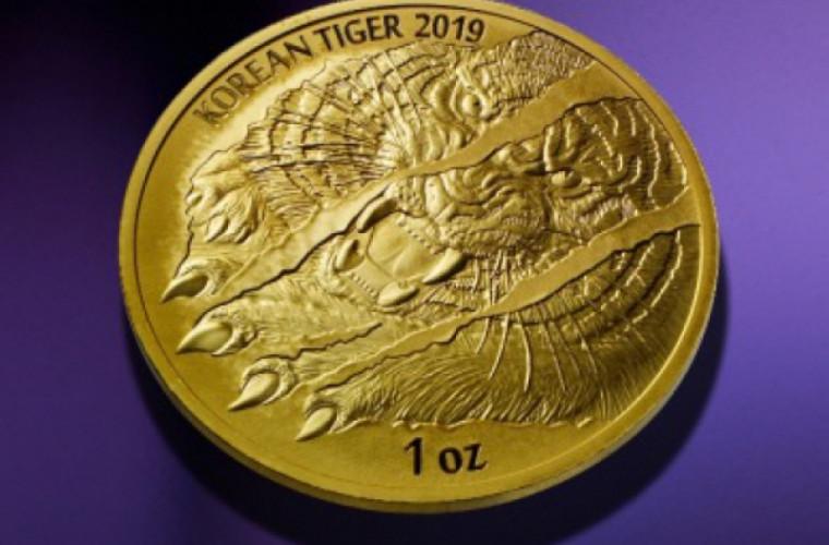 Medalie cu imaginea unui tigru. Unde a fost prezentată
