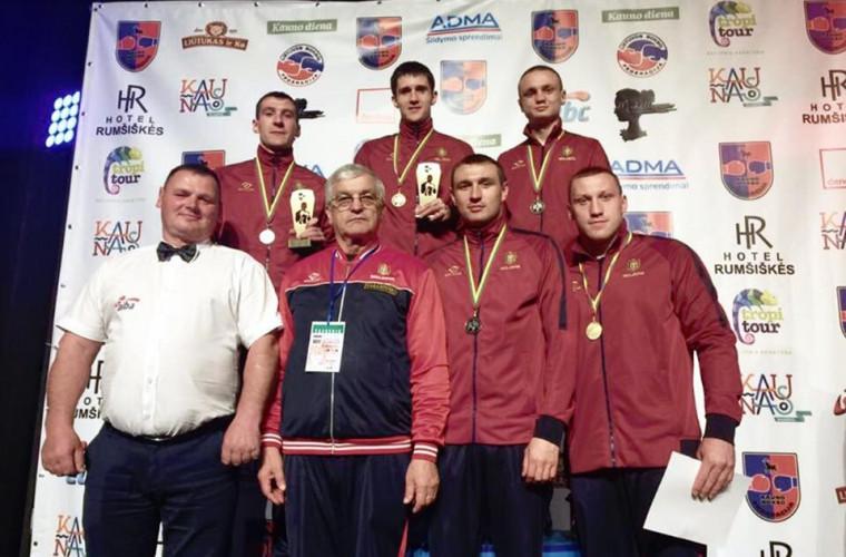 Succesul boxerilor moldoveni la Kaunas