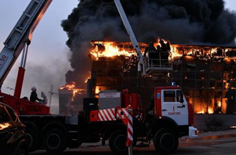Un nou incendiu la Kemerovo