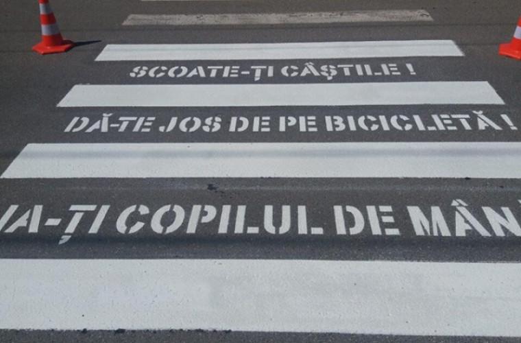 Ce se va întîmpla cu trecerea de pietoni din capitală, care a stîrnit nemulţumiri (FOTO)