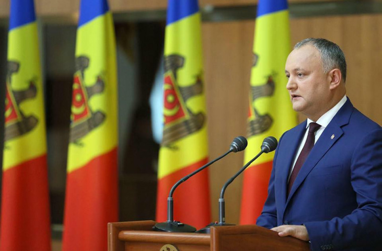 Dodon înaintează un ultimatum partidelor parlamentare