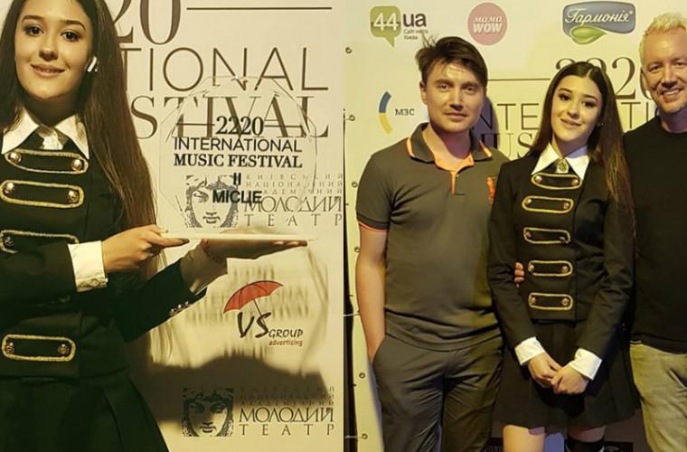 Успех молдаванки на знаменитом конкурсе (ВИДЕО)